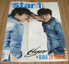 @ STAR 1 AT STAR 1 STARIL HYUNBIN HYUN BIN B1A4 VOL.16 2013 JULY TABLOID NEW