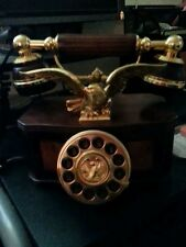 Franklin Mint Antique Phone in 24 ct. gold.  Extremely Rare, Excellent Condition