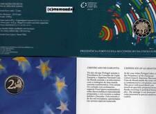 Portugal 2 Euro 2007 Präsidentschaft Off. CoinCard Blister Gedenkmünze Proof PP