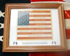 35 star American Civil War Flag......20th Connecticut