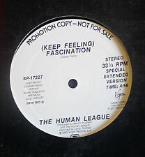 "The Human League White Label A&M Disco New Wave 12"" Single 1983"