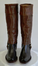 Brand New Juicy Couture Runway Cowboy Inspired Boots Sz6 Made in Spain