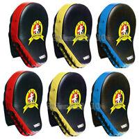 2pcs Thai Kick MMA Boxing Glove Mitt Focus Punch Pad Training Karate Muay