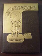 1949 Hope College Yearbook Holland, Michigan Milestone 1949 Make offer !