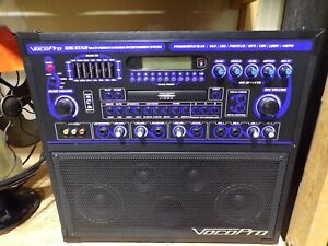 Vocopro Gig Star Multi-Format Karaoke System Clean Tested & Works Great See Pic