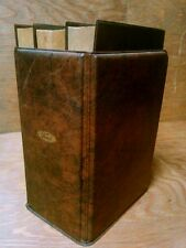 Vtg 72 Ford Employee Gift MW Dictionary Rogets Thesaurus Office Encyclopedia