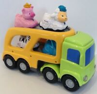 ELC Car Transporter With Four Toot Toot Animals. Lights & Sounds.