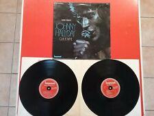 Double vinyles de Johnny Hallyday