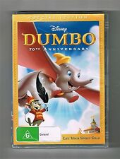 Dumbo - 70th Anniversary Special Edition Dvd Disney Brand New & Sealed
