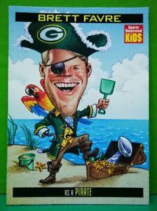 Brett Favre card 1999 Sports Illustrated For Kids #843