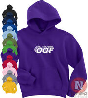 OOF Hoodie Roblox death sound kids Adults top Hoody teen slang Youtubers