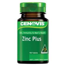 Cenovis Zinc Plus Tablets 150 Maintain Healthy Immune Function Healthy Skin