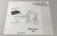 STAR WARS DROIDS R2-D2 1985 ORIGINAL ANIMATION ART CEL CELL LUCASFILM RARE