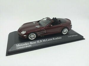 MINICHAMPS 1/43 Mercedes-Benz SLR McLaren Roadster Carneolrot Metallic 400037130