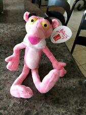 """Pink Panther 11"""" Stuffed Animal 2006 Owens Corning"""