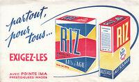 Buvard Vintage riz de luxe Aussage