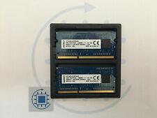 8GB (2x 4GB ) PC3 1Rx8 12800S 1600 MHz Kingston Laptop RAM Arbeitsspeicher