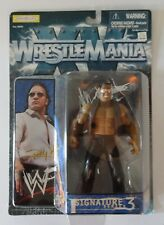 WWE/WWF Jakks Wrestlemania XV The Rock Signature 3 Series action figure