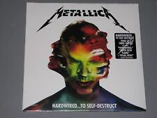 METALLICA Hardwired...to Self Destruct 180g 2 LP New Sealed Vinyl
