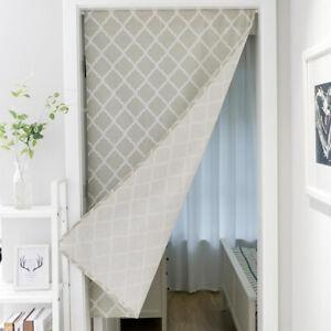 1pc Printed Bathroom Doorway Blackout Curtain Single Window Door Half Curtains