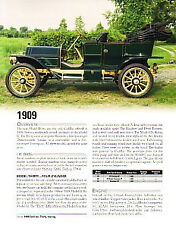 1909 Cadillac Article - Must See !!