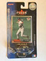 2002 Fleer Ultra Derek Jeter #2 Card MINT & Matchbox Car - Original Package Rare