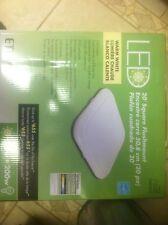 Eti Model # 54613101 20 in. Square LED Flush Mount Soft White