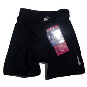 Womens Canari Cycling Velocity Padded Shorts Black Size Small