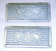 1947 1948 1949 1950 1951 1952 1953 1954 Unpolished Running Board Step Plates GMC