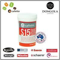 60 CAFETTO S15 Espresso Coffee Machine Cleaning Tablets Super Automatic Cleaner
