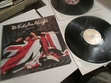THE WHO.THE KIDS ARE ALRIGHT 2 LP BOOKLET. MCA2-1100 1979 FIRST US PRESS EXC
