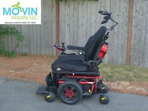 Quantum Edge 3 QLogic Electric Wheelchair w/ Power Tilt Recline Legrest