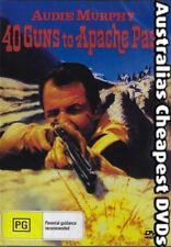 40 Guns To Apache Pass DVD NEW, FREE POSTAGE WITHIN AUSTRALIA REGION ALL