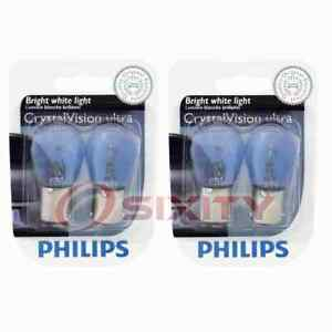 2 pc Philips Brake Light Bulbs for Merkur Scorpio XR4Ti 1988-1989 Electrical yt