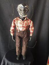 Vintage Uncle Tom Marionette Doll Puppet Black Memorabilia