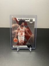 2019-20 PANINI MOSAIC COBY WHITE BASE NBA Debut RC ROOKIE #264 CHICAGO BULLS
