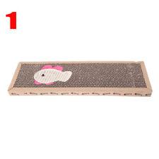 1pc Pet Cat Hand Made Scratching Board Post Claws Sisal Hemp Mat Pad Supplies Mouse