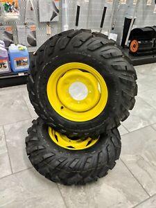 John Deere Gator New Front Tires & Rims Sold As Set