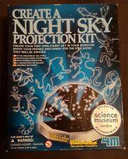 4M KidzLabs Create A Night Sky Projection Kit Bedroom Light Science Experiment