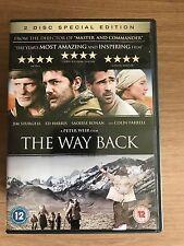 THE WAY BACK ~ 2010 Gulag / Siberian Prison Escape Drama | 2-Disc UK DVD