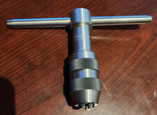 New Listingstarrett T Handle Tap Wrench 14 12 Capacity Part 93 C