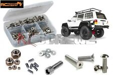 Axial SCX10 II Jeep Cherokee Stainless Screw Kit RCScrewZ AXI023