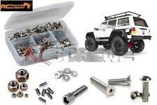 Axial SCX10 II Jeep Cherokee Stainless Screw Kit RCScrewZ AXI023