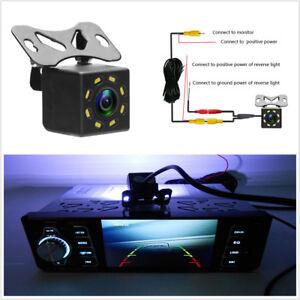 Car Rear View Backup Parking Camera 8 LED Night Color Image Reversing 12V