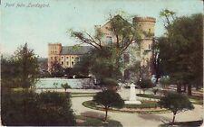 Sweden Lund - Park pre WWI unused postcard