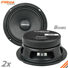 "2x PRV Audio 6MR200A Mid Range ALTO Car Stereo 6.5"" Speaker 8 ohm 6MR PRO 400W"