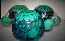 "Lot of 3 Large Vintage Hallmark Turtle Candles 6"" in length..."