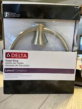 Delta 73846-Ss Lahara Towel Ring in Brilliance Stainless
