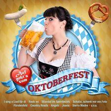 AUF GEHT'S ZUM OKTOBERFEST (DJ ÖTZI,SPIDER MURPHY GANG,PETER WACKEL,...) CD NEW+