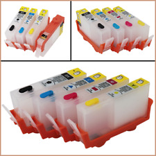 REFILLABLE INK CARTRIDGE WITH ARC CHIP FOR HP178 178XL PHOTOSMART 5510 6510 B109